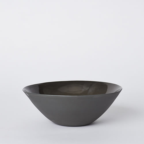 Flared Cereal Bowl in Slate