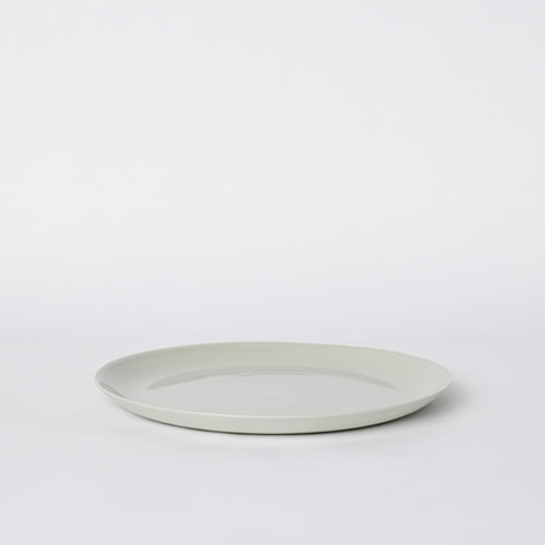 Flared Dinner Plate in Dust