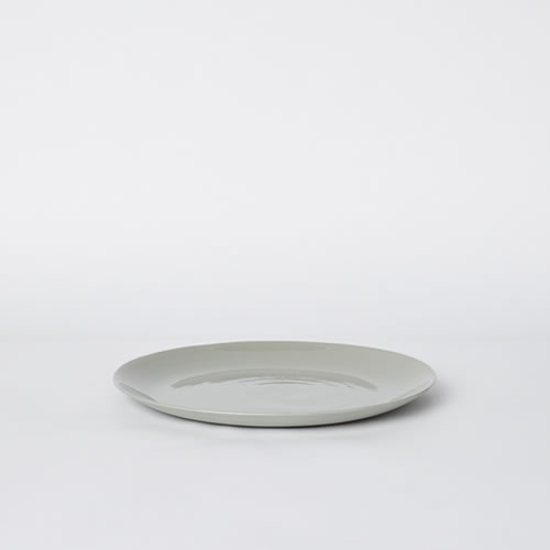 Flared Small Plate in Ash