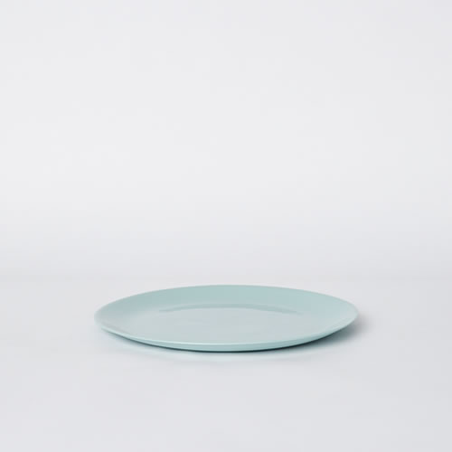 Flared Small Plate in Blue