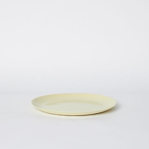 Flared Small Plate in Citrus