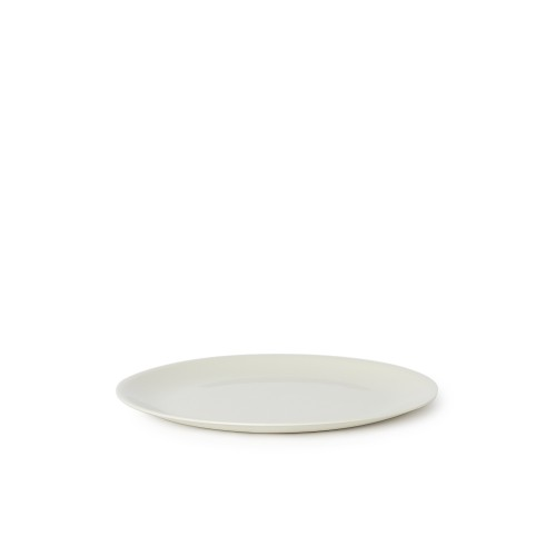 Flared Small Plate in Milk