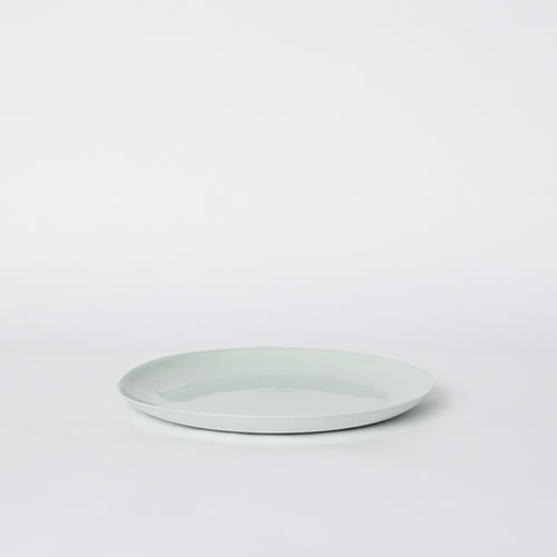 Flared Small Plate in Mist