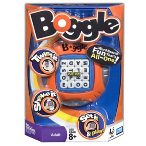 Boggle Re-Invention Board Game