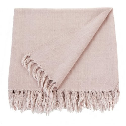 Hayman Blush Throw