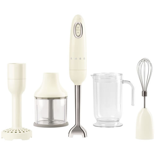 Smeg 50's Style Stick Mixer Cream