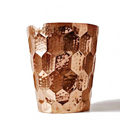 Tom Dixon Eclectic Hex Champagne Bucket Copper