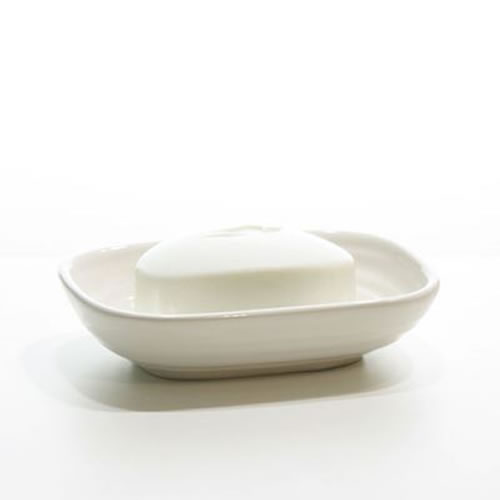 Hush Soap Dish White