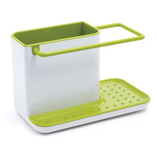 Caddy Sink Area Organiser in White and Green