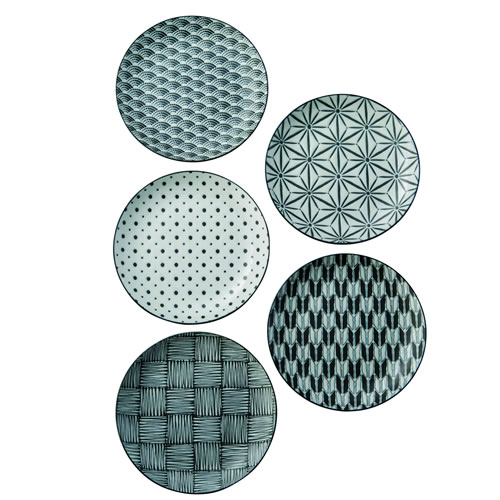 Komon Cake Plate Set