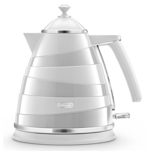 Delonghi  Avvolta 1.7 Litre Kettle in White