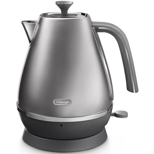 Delonghi Distinta Flair 1.7 Litre Kettle Silver