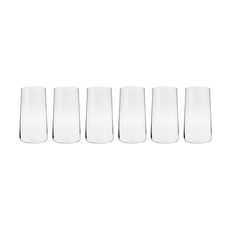 Avant Garde Highball Glasses 540ML Set of 6