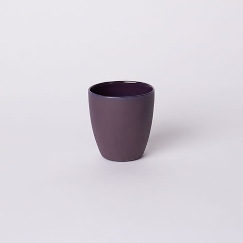 Latte Cup in Plum