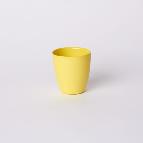 Latte Cup in Yellow