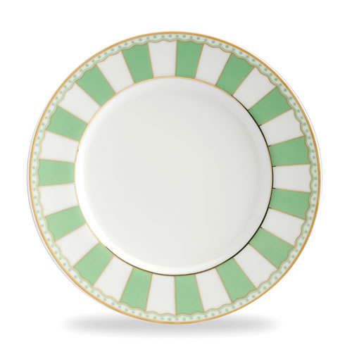Carnivale Cake Plate Set in Apple Green