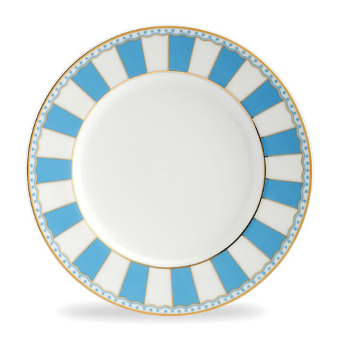 Carnivale Cake Plate Set in Light Blue