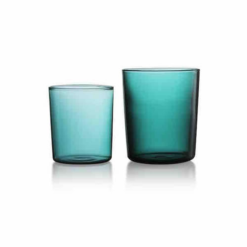 Large Teal Tumbler Set