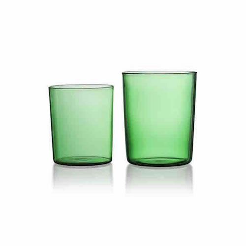 Large Green Tumbler Set