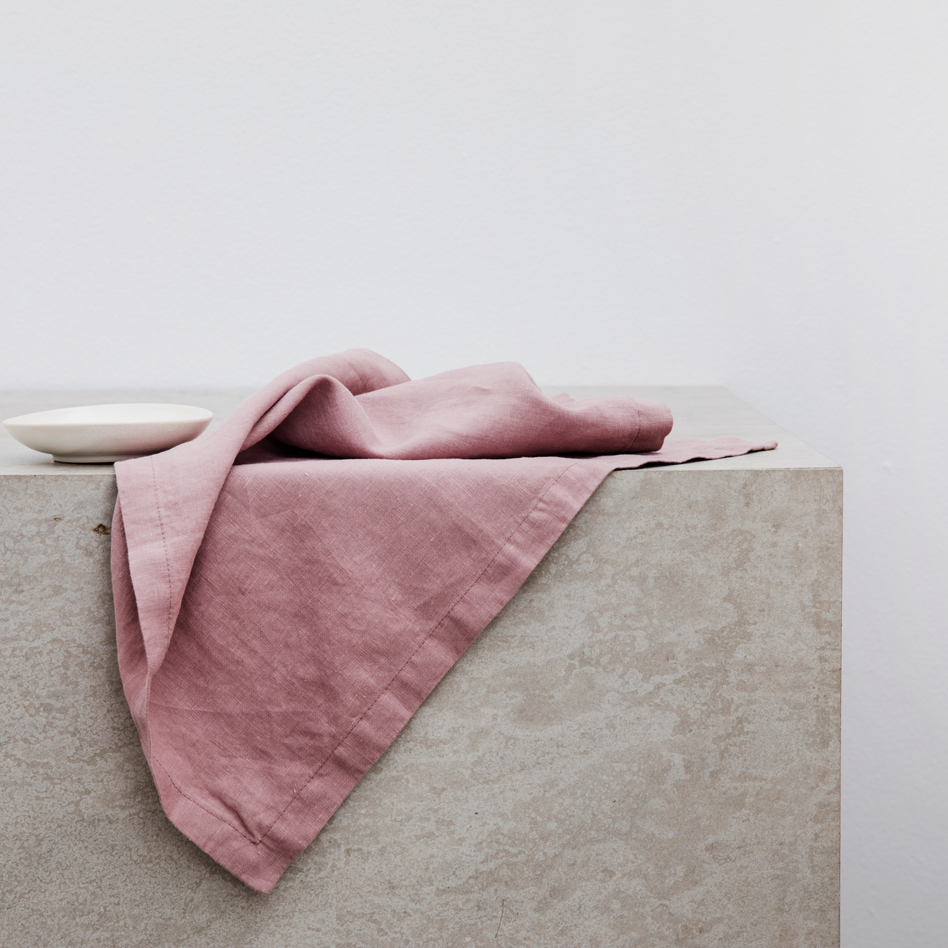 Linen Table Napkins Set of Four Dusk