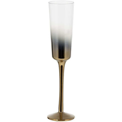 Cariso Gold Champagne Flutes