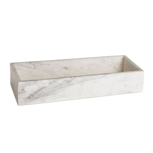 Marble Condiments Tray 36 x 15 x 7.5cm