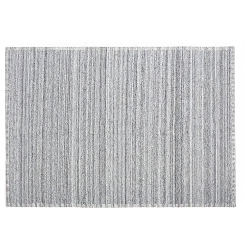 Nevada Grey Wool Rug 200x300cm