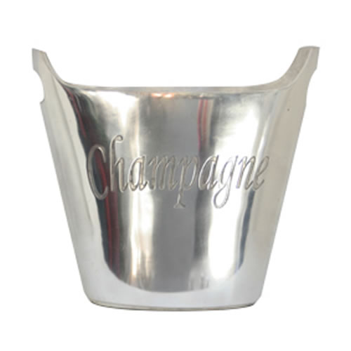 Oval Silver Plated Champagne Bucket