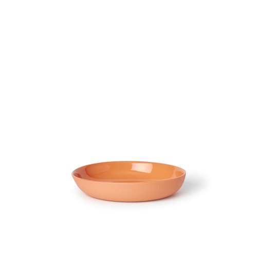 Pebble Bowl Cereal in Orange