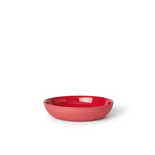 Pebble Bowl Cereal in Red
