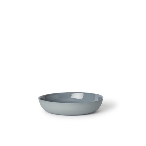 Pebble Bowl Cereal in Steel