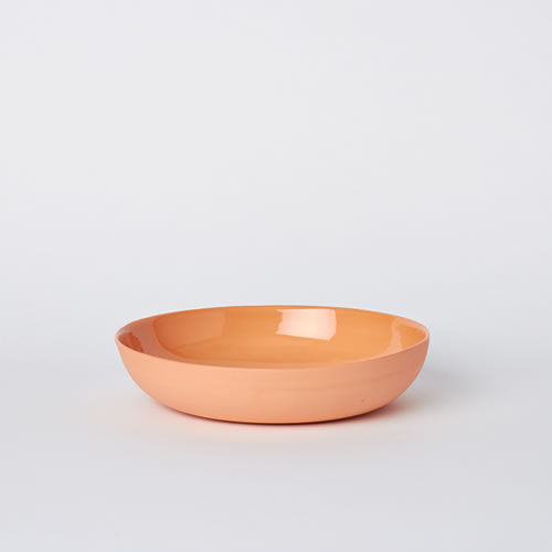 Pebble Bowl Medium in Orange