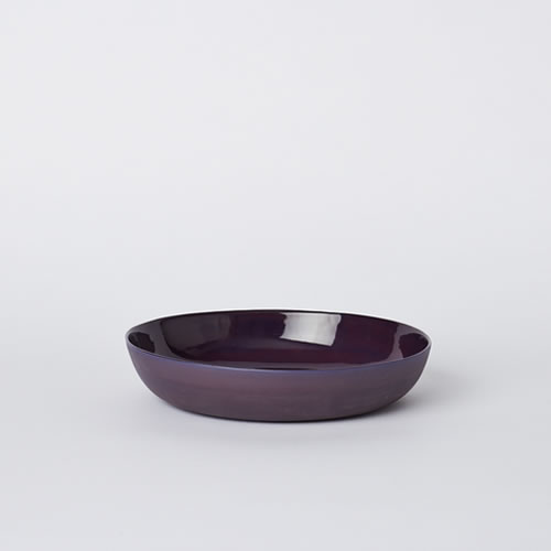 Pebble Bowl Medium in Plum