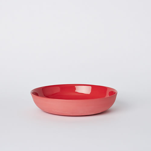 Pebble Bowl Medium in Red
