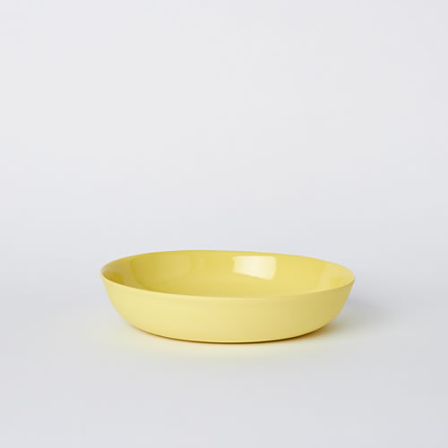 Pebble Bowl Medium in Yellow