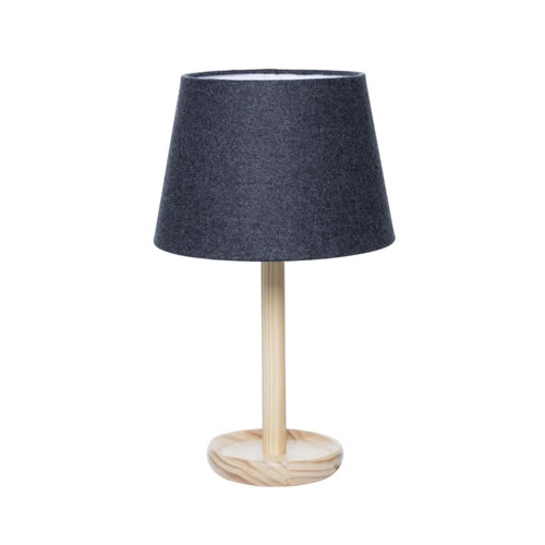 Pip Table Lamp Charcoal