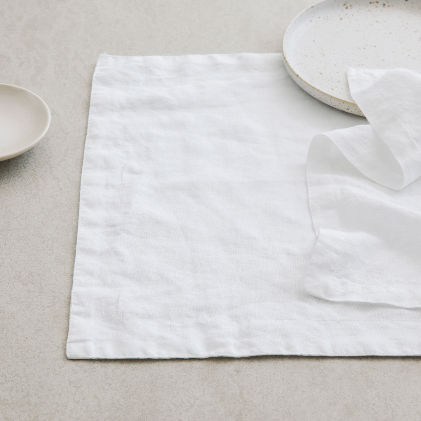 Linen Placements Set of Four - White