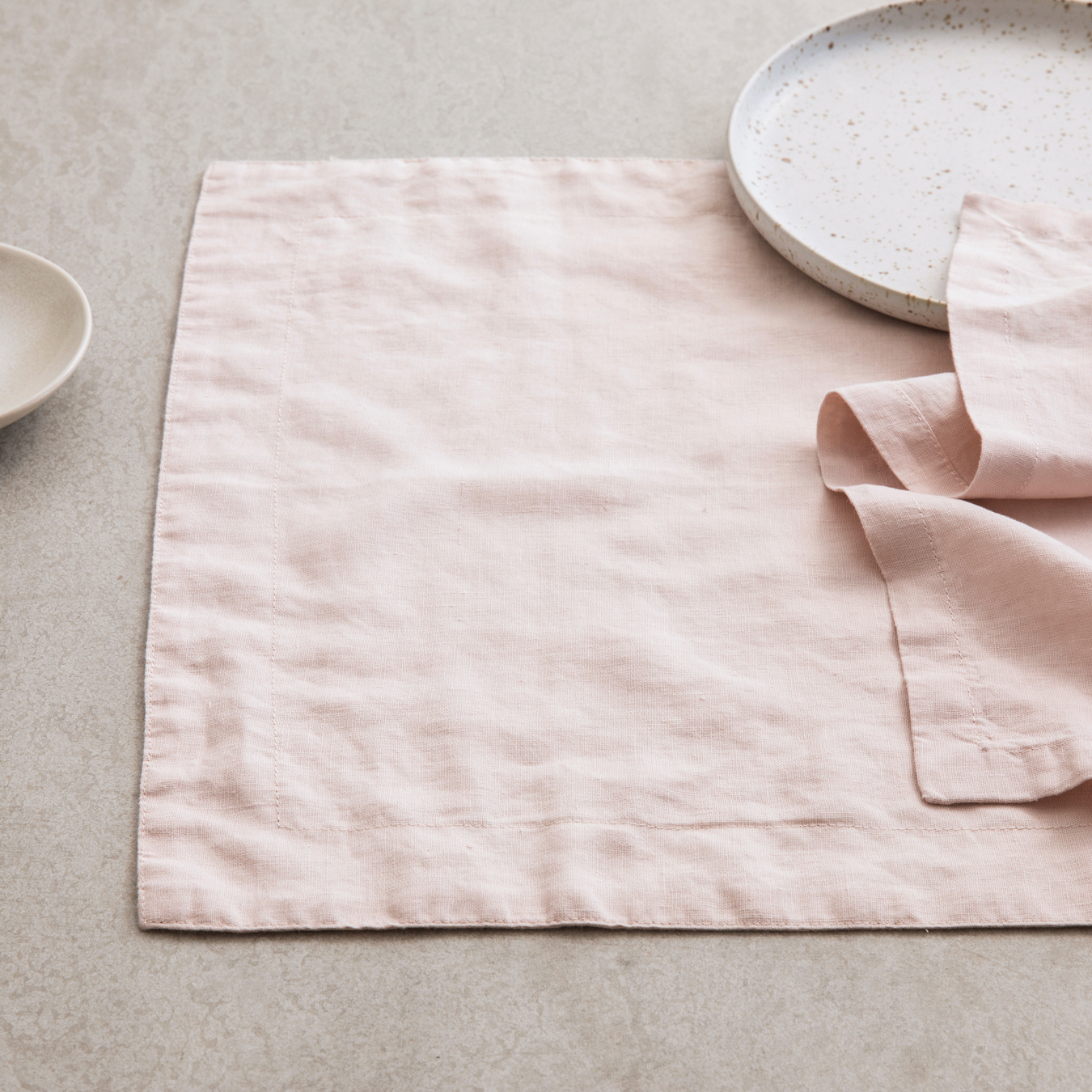 Linen Placements Set of Four - Blush
