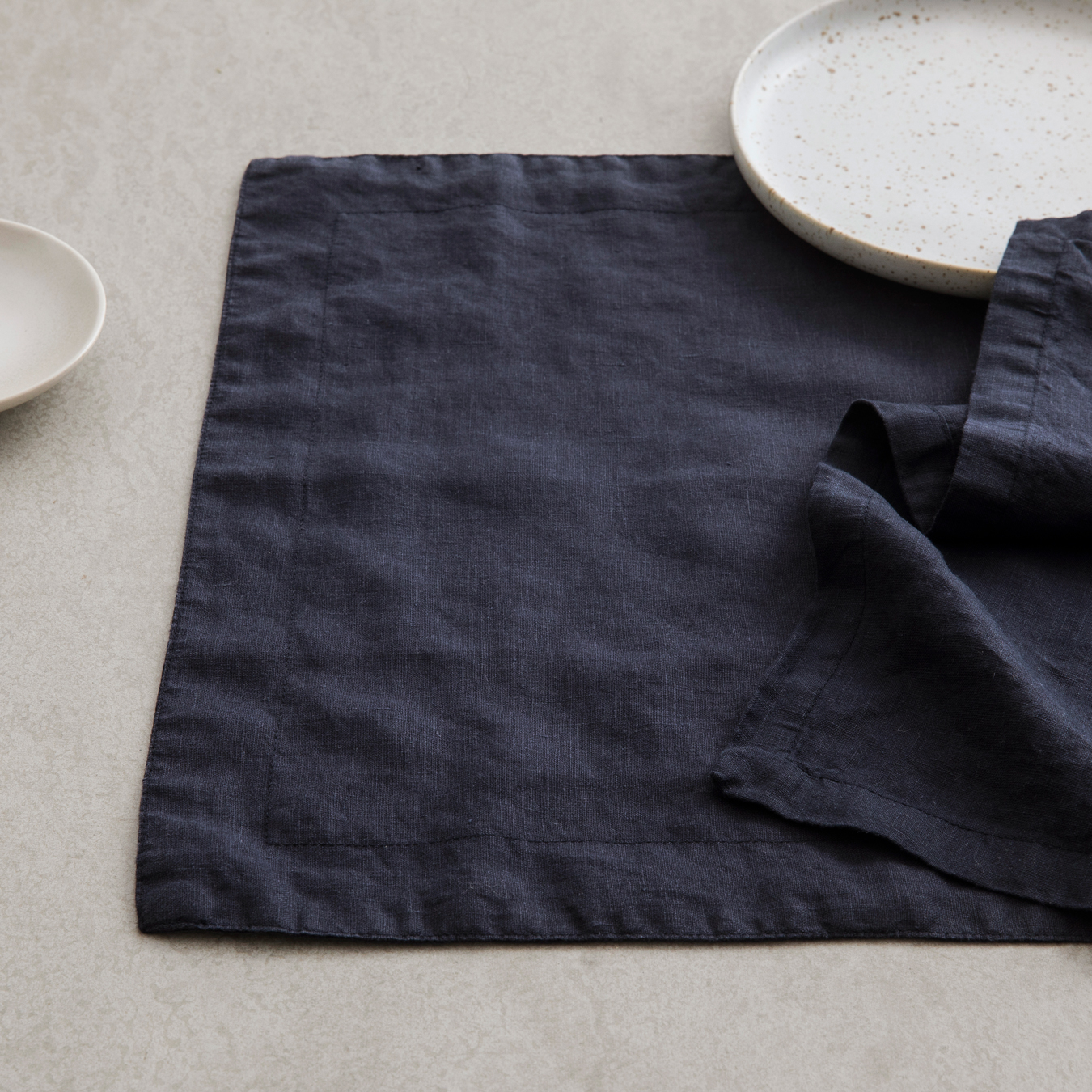 Linen Placements Set of Four - Navy