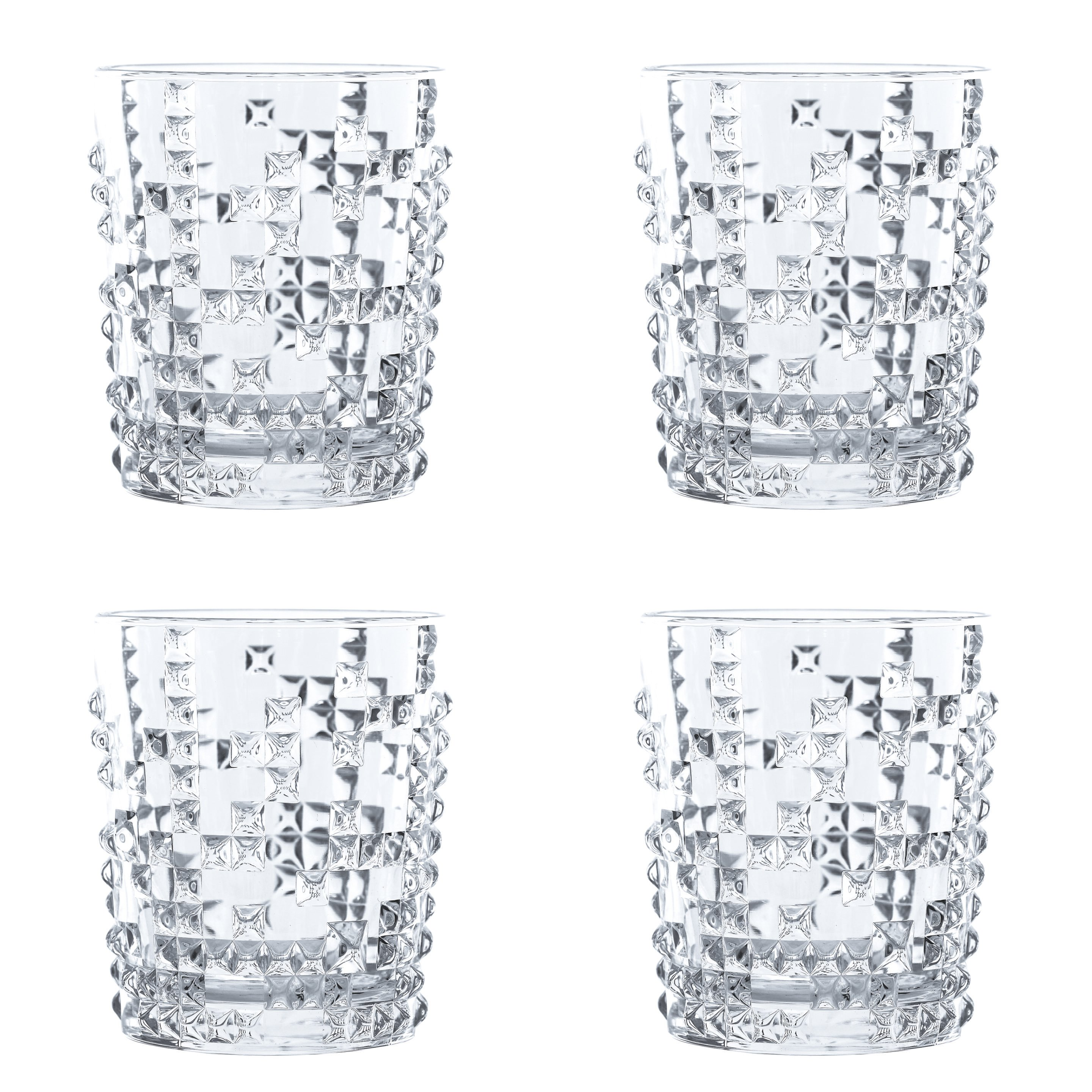 Punk Whisky Tumbler Set of Four