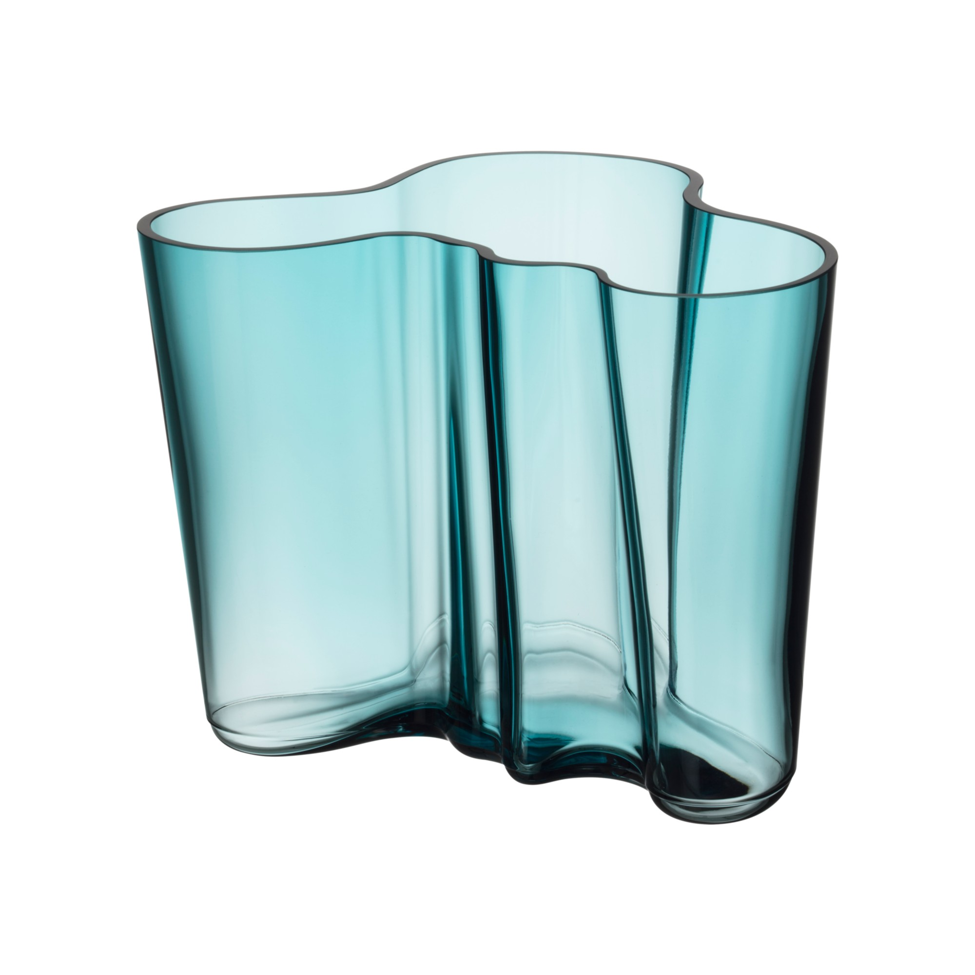 Aalto Vase 160mm Sea Blue