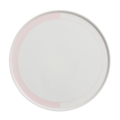The Demi Circle Plate 25cm in Pink