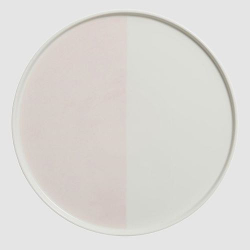 The Half Moon Plate 25cm in Pink