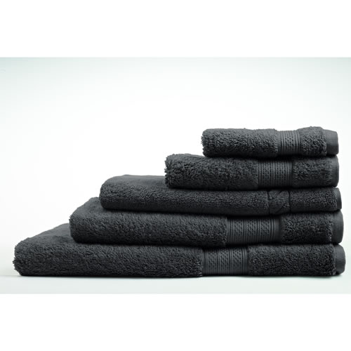 Egyptian Luxury Graphite Face Washer 33x33cm