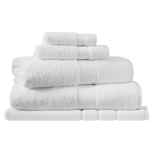Egyptian Luxury Snow Hand Towel 45x65cm
