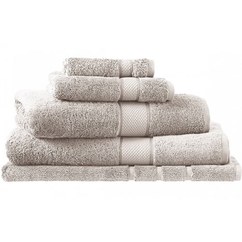 Egyptian Luxury Silver Hand Towel 45x65cm