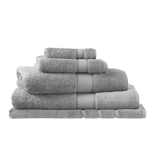 Egyptian Luxury Cotton Cloud Grey King Towel