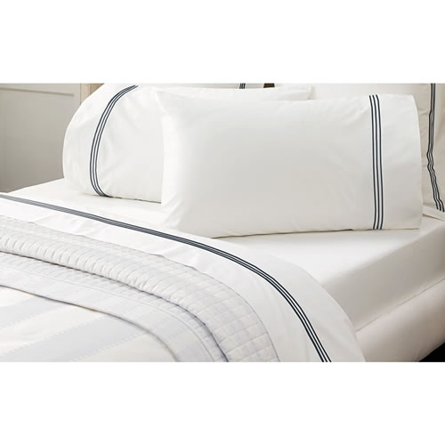 Palais Midnight Queen Flat Sheet
