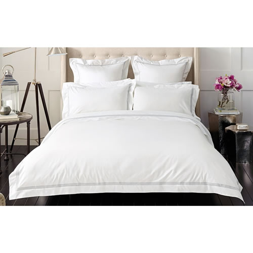 Palais Silver Tailored Pillowcase Single
