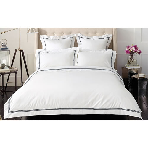 Palais Midnight Super King Tailored Quilt Cover